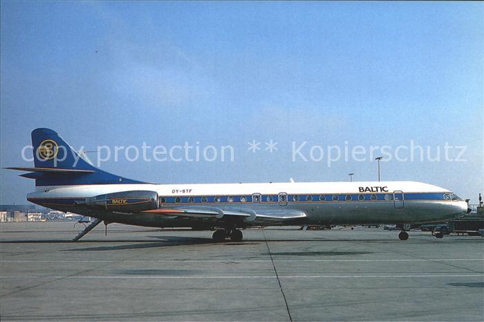 Flugzeuge zivil Baltic Aviation Sud Aviation SE. 210 Caravelle 10B3 Kat. Airplanes Avions