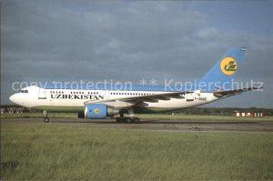 Flugzeuge Zivil Uzbekistan Airways Airbus A310 324 ET F OGQZ Kat. Airplanes Avions