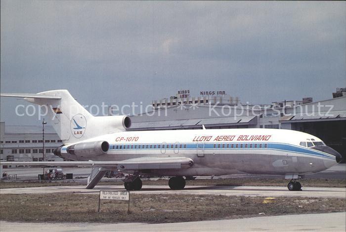 Flugzeuge Zivil LAB Lloyd Aereo Boliviano Boeing 727 171C CP 1070 c n 19860 599 Kat. Airplanes Avions