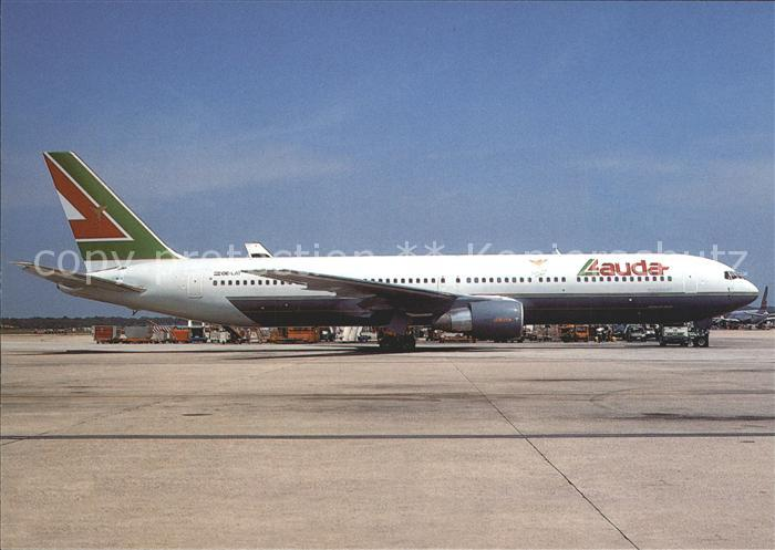 Flugzeuge Zivil Lauda Airlines Boeing B 767 300ER OE LAT  Kat. Airplanes Avions