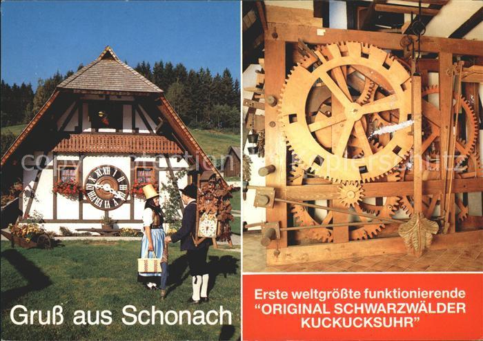 Uhren Original Schwarzwaelder Kuckucksuhr Schonach Kat. Technik Nr ...