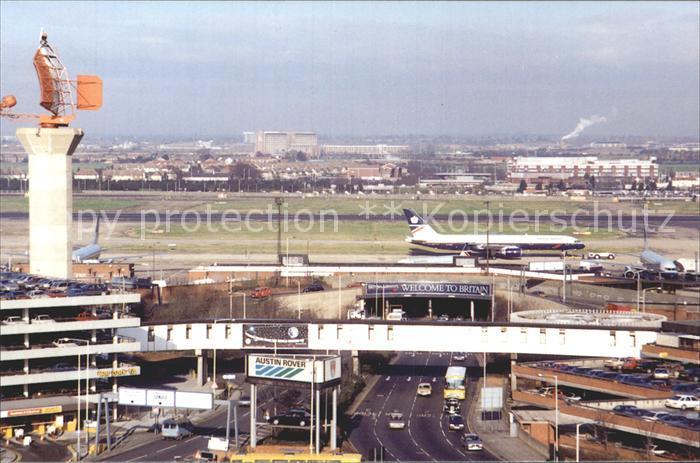 Flughafen Airport Aeroporto London Heathrow  Kat. Flug