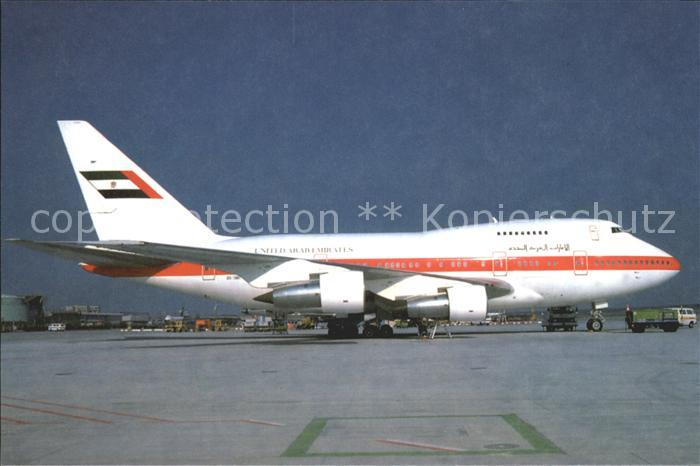 Flugzeuge Zivil United Arab Emirates B 747 Sp 31 A6 Smp C N 23610