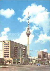 Fernsehturm Funkturm UKW Turm Berlin Karl Marx Allee Kat. Gebaeude