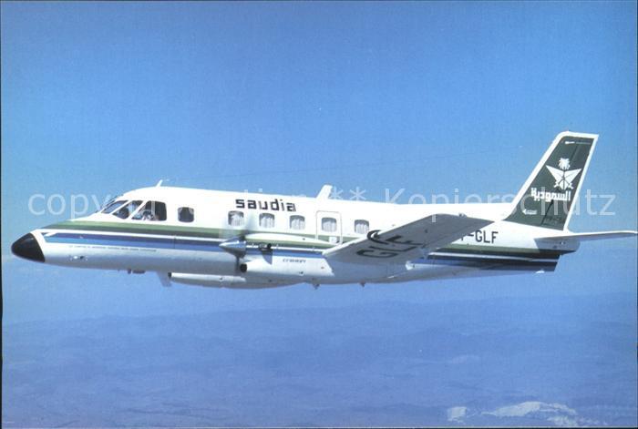 Flugzeuge Zivil Saudia Saudi Arabian Airlines Embraer 110 P 1 PT GLF cn 110.165 Kat. Airplanes Avions