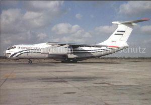 Flugzeuge Zivil Uzbekistan Airways Ilyushin IL 76 76449 Kat. Airplanes Avions