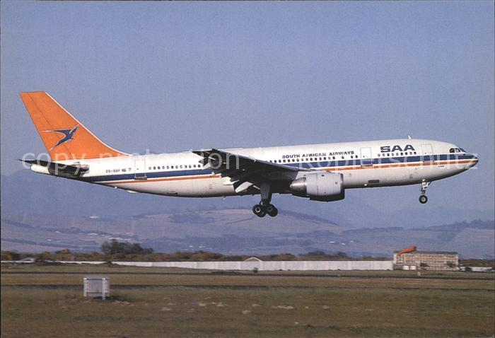 Flugzeuge Zivil SAA South African Airways Airbus A300B4 203 ZS SDF c n 192 Kat. Airplanes Avions