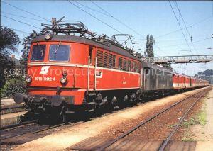 Eisenbahn Elektro Schnellzuglokomotive 1018 002 4 Bundesbahn oesterreich Kat. Eisenbahn