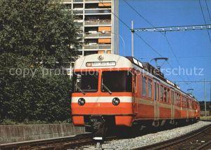 Eisenbahn Solothurn Zollikofen Bern Bahn Vereinigte Bern Worb Bahnen Kat. Eisenbahn