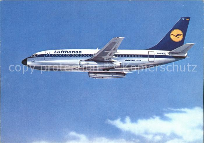 Lufthansa Boeing 737 City Jet  Kat. Flug