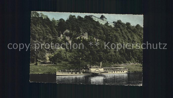 Dampfer Seitenrad Kaiser Wilhelm Schloss Fuerstenberg Weser  Kat. Schiffe