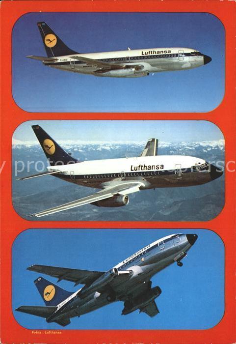 Lufthansa Boeing B 737 D City Jet Kat. Flug