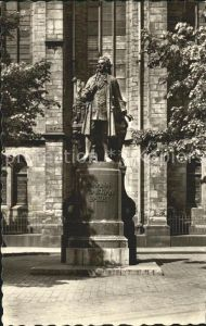 Bach Johann Sebastian Denkmal Leipzig Kat. Komponist