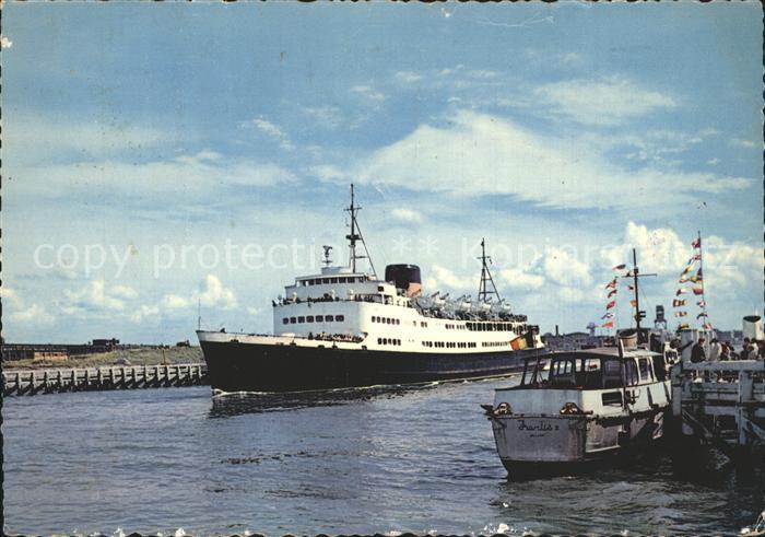 Faehre Depart de la Malle Ostende Douvres Kat. Schiffe