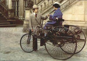 Dreiraeder Benz-Dreirad Baujahr 1885 Verkehrsmuseum Dresden / Dreiraeder /