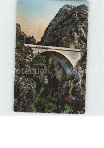 Bruecken Bridges Ponts Menton Pont Saint Louis Frontiere Franco Italienne