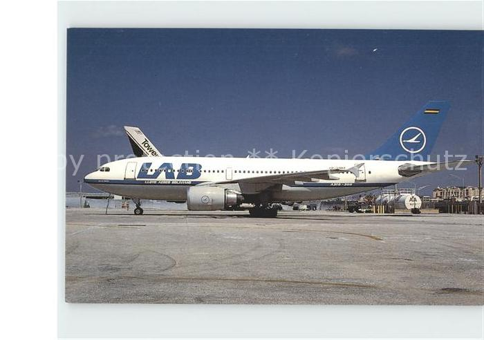 Flugzeuge Zivil LAB Lloyd a Boliviano Airbus A310 304 661 CP 2307 Kat. Airplanes Avions