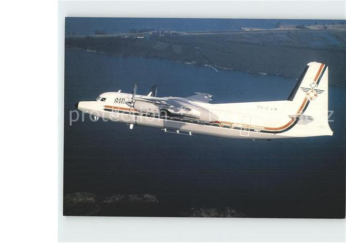 Flugzeuge Zivil Air Niger Fokker F27 Mk600 PH EXM  Kat. Airplanes Avions