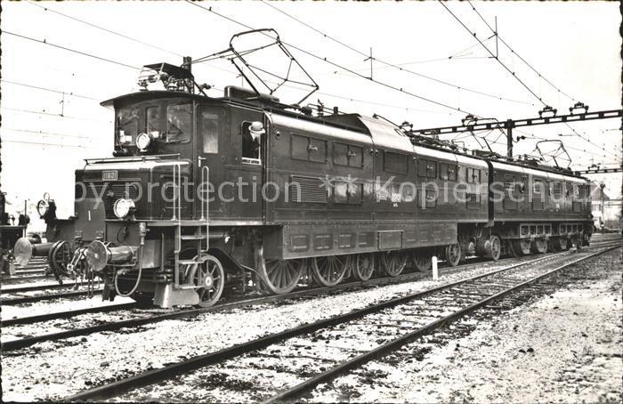 Lokomotive Bundesbahn Schweiz  Kat. Eisenbahn
