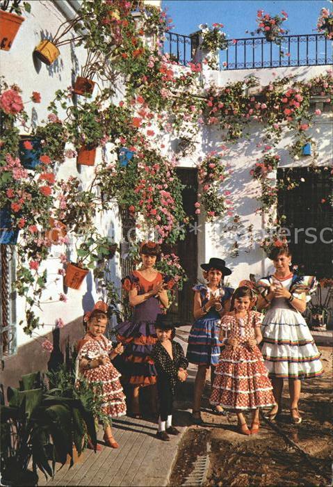 Trachten Spanien Andalucia Traje Tipico / Trachten /