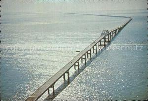 Bruecken Bridges Ponts Chesapeake Bay Bridge Tunnel