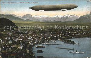 Zeppelin Luftschiff Graf Zeppelin Bregenz Kat. Flug
