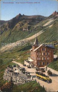 Postauto Klausenstrasse Hotel Klausen Passhoehe Kat. Post