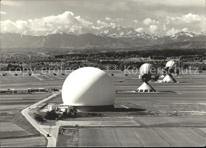 Observatorium Sternwarte Urania NSA BND Abhoeranlage Bernried Kat. Gebaeude