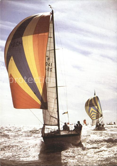 Segelboote Cote Atlantique Voilier sur la cote  Kat. Schiffe