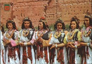 Trachten Marokko Frauen  Kat. Trachten
