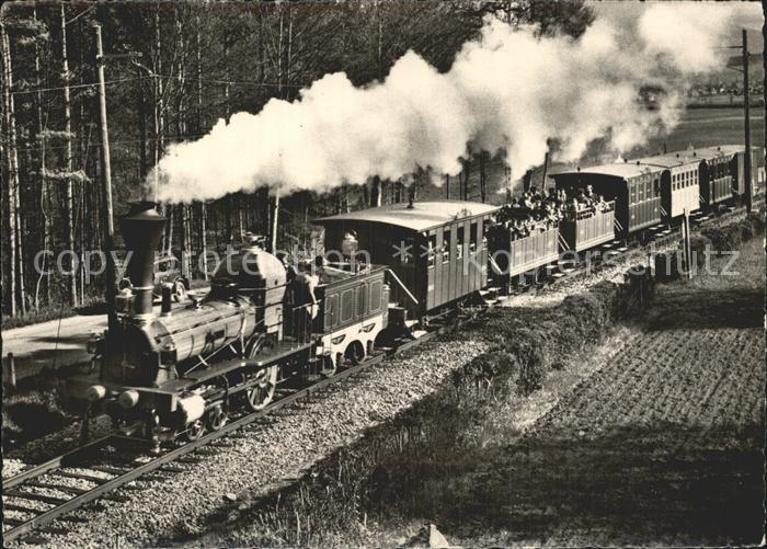 Lokomotive Spanisch Broetli Bahn 100 Jahre Schweizer Eisenbahnen  Kat. Eisenbahn