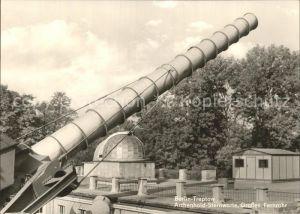 Sternwarte Urania Observatorium Archenhold Grosses Fernrohr Berlin Treptow Kat. Gebaeude