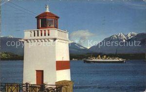 Leuchtturm Lighthouse Brockton Point Vancouver B.C.  / Gebaeude /