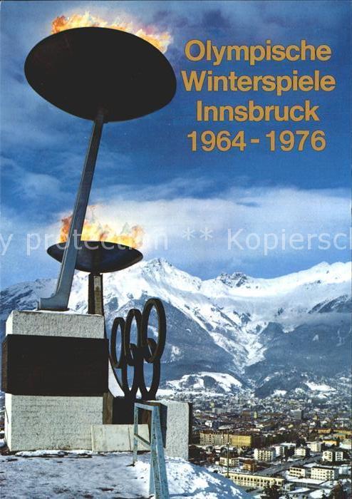 Olympia Olympische Winterspiele Innsbruck 1964-1976 / Sport /