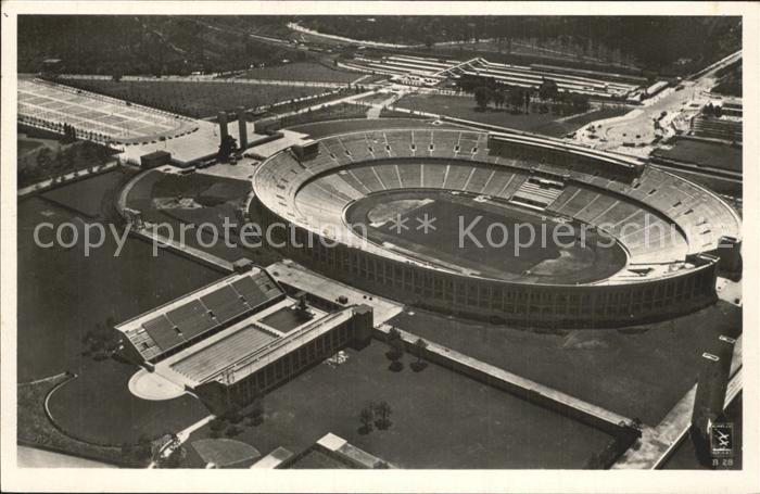 Stadion Reichssportfeld Olympia Stadion Berlin  Kat. Sport