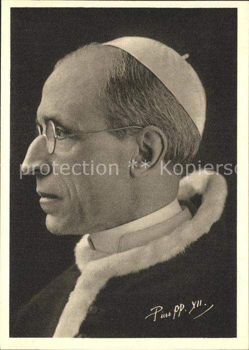 Papst Pius XII. Kat. Religion