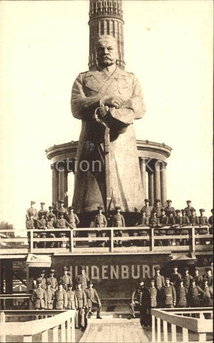 Hindenburg Der Eiserne Hindenburg Berlin Wohlfahrtskarte  Kat. Persoenlichkeiten