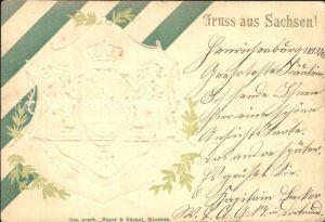 Wappen Sachsen  Kat. Heraldik