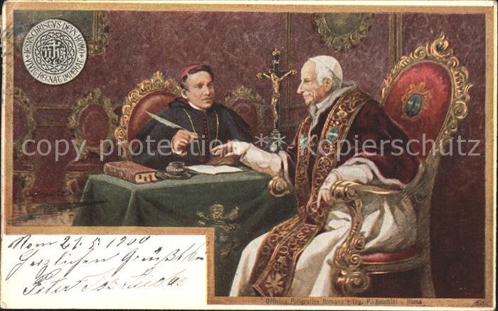 Papst Leo XIII. Papa Leone XIII Kat. Religion