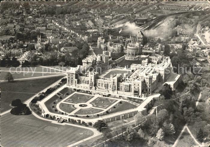 Windsor Castle Fliegeraufnahme Schloss und Park Kat. City of London