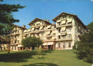 Bex les Bains Parc Hotel des Salines Kat. Bex
