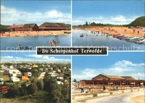 Terwolde De Scherpenhof Strand Camping Kat. Niederlande