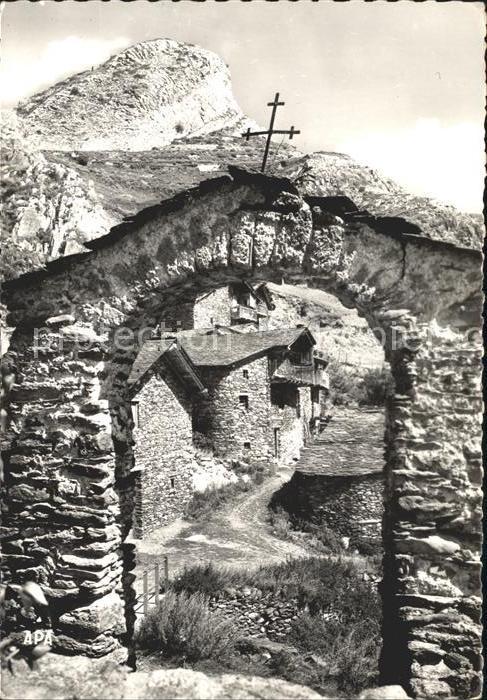 Canillo Vista Parcial Tipic Kat. Andorra