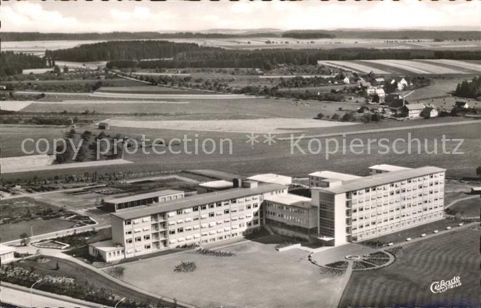 Schwenningen Neckar Fliegeraufnahme Krankenhaus / Villingen ...