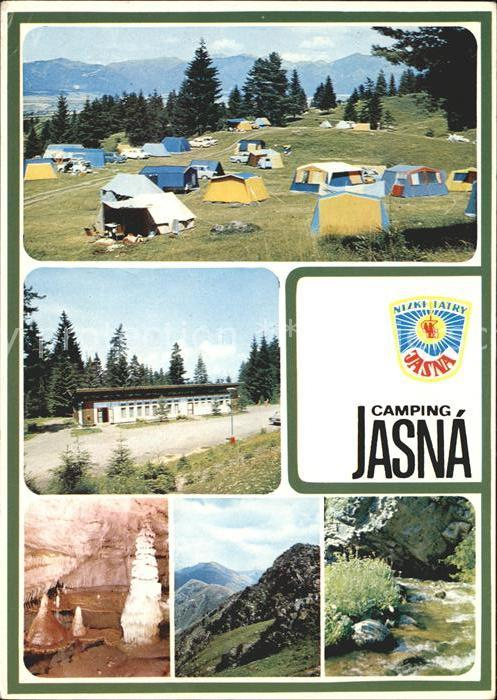 Tatra Vysoke Gebirge Camping Jasna Niedere Tatra Kat. Slowakische Republik