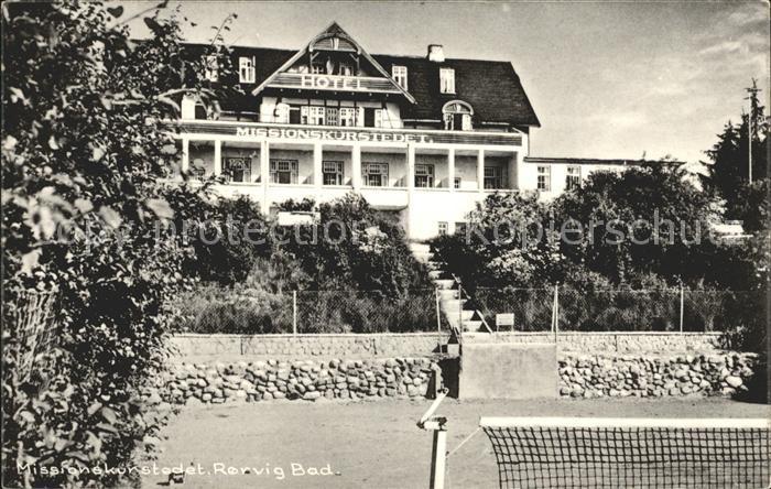 Rorvig Hotel Missionskurstedet Kat. Daenemark