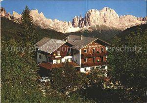 Tiers Dolomiten Pension Rosengarten  Kat. Italien