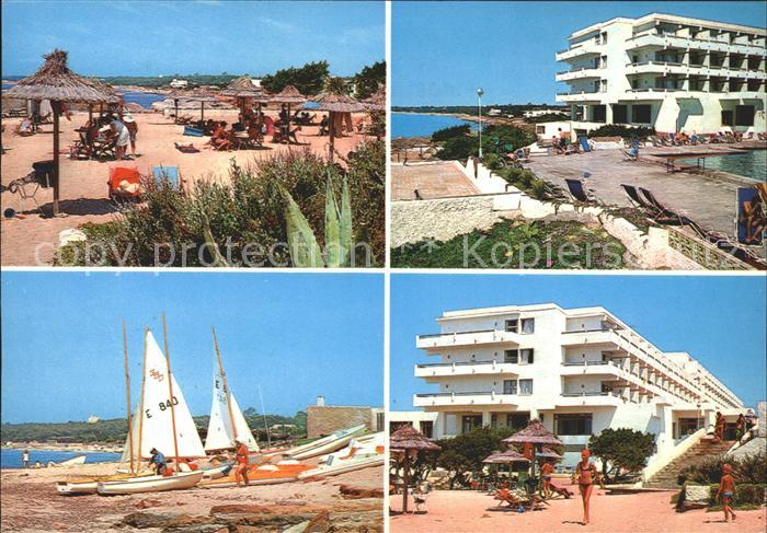 Formentera Hotel Formentera  Strand Segelboote Kat. Spanien