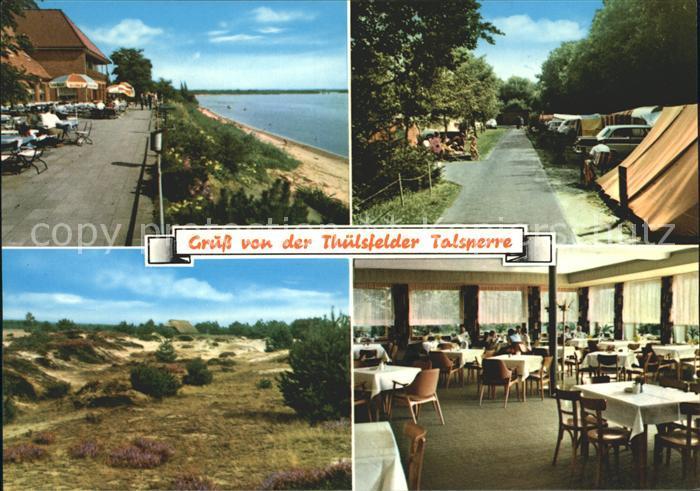 Thuele Friesoythe Hotel Seeblick Restaurant Thuelsfelder Talsperre Duenen Camping Kat. Friesoythe