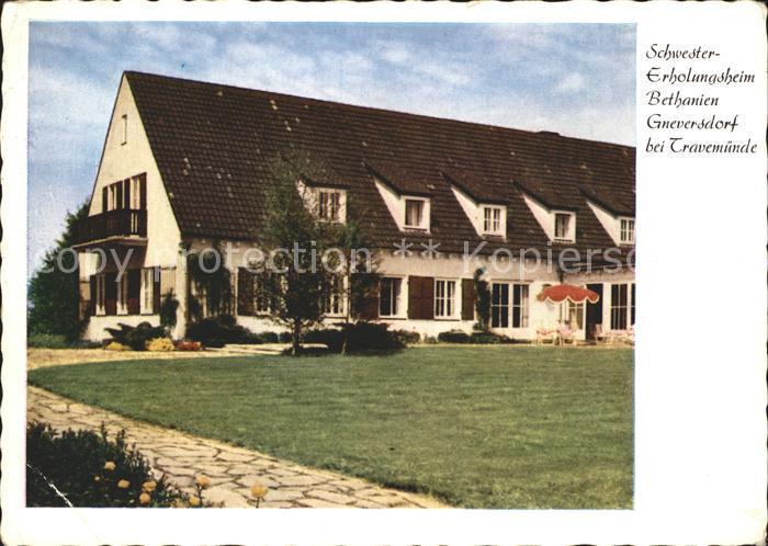 Travemuende Ostseebad Schwester-Erholungsheim Bethanien / Luebeck /Luebeck Stadtkreis
